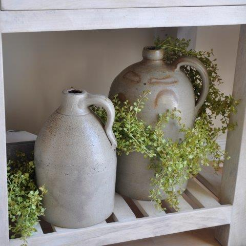 Greenery makes a farmhouse palette pop, while bringing the great outdoors inside!
