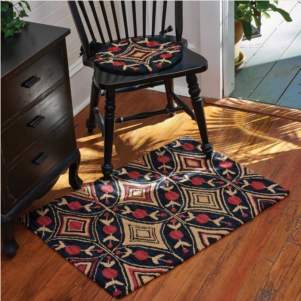 Hooked Rugs & Chair Pads