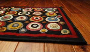 Primitive Penny Rugs