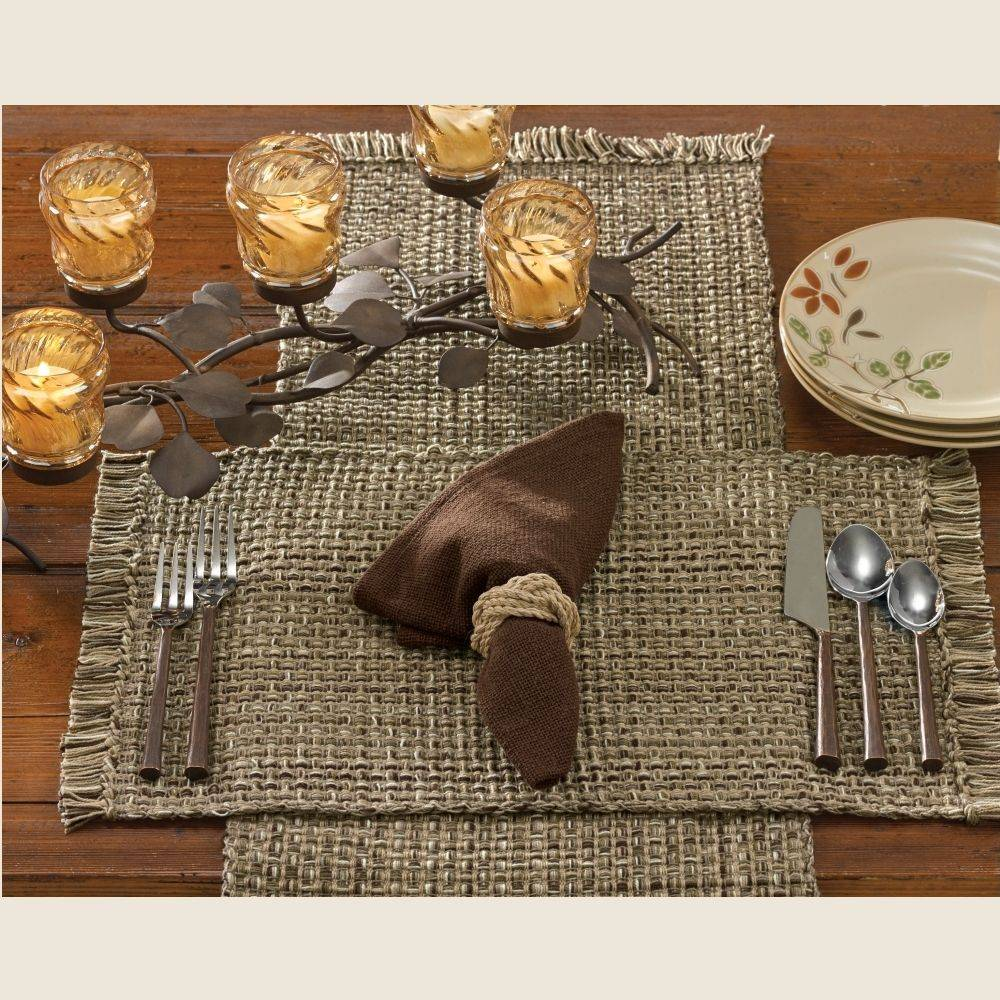 Country kitchen table tweed espresso table runner 54 hover to zoom workwithnaturefo