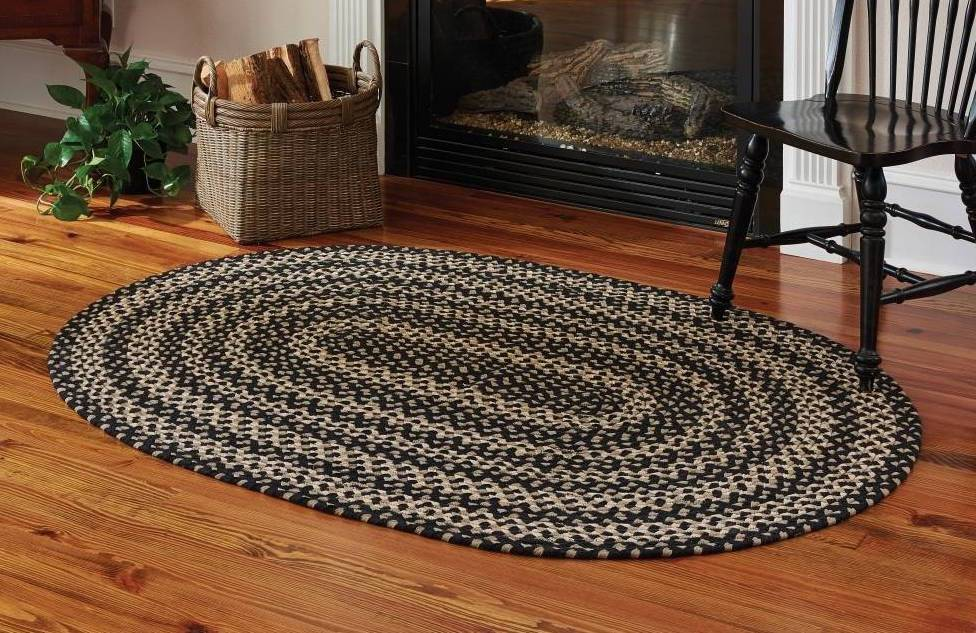 Country Rugs Kendrick Braided Oval Rug 48 Quot X 72 Quot