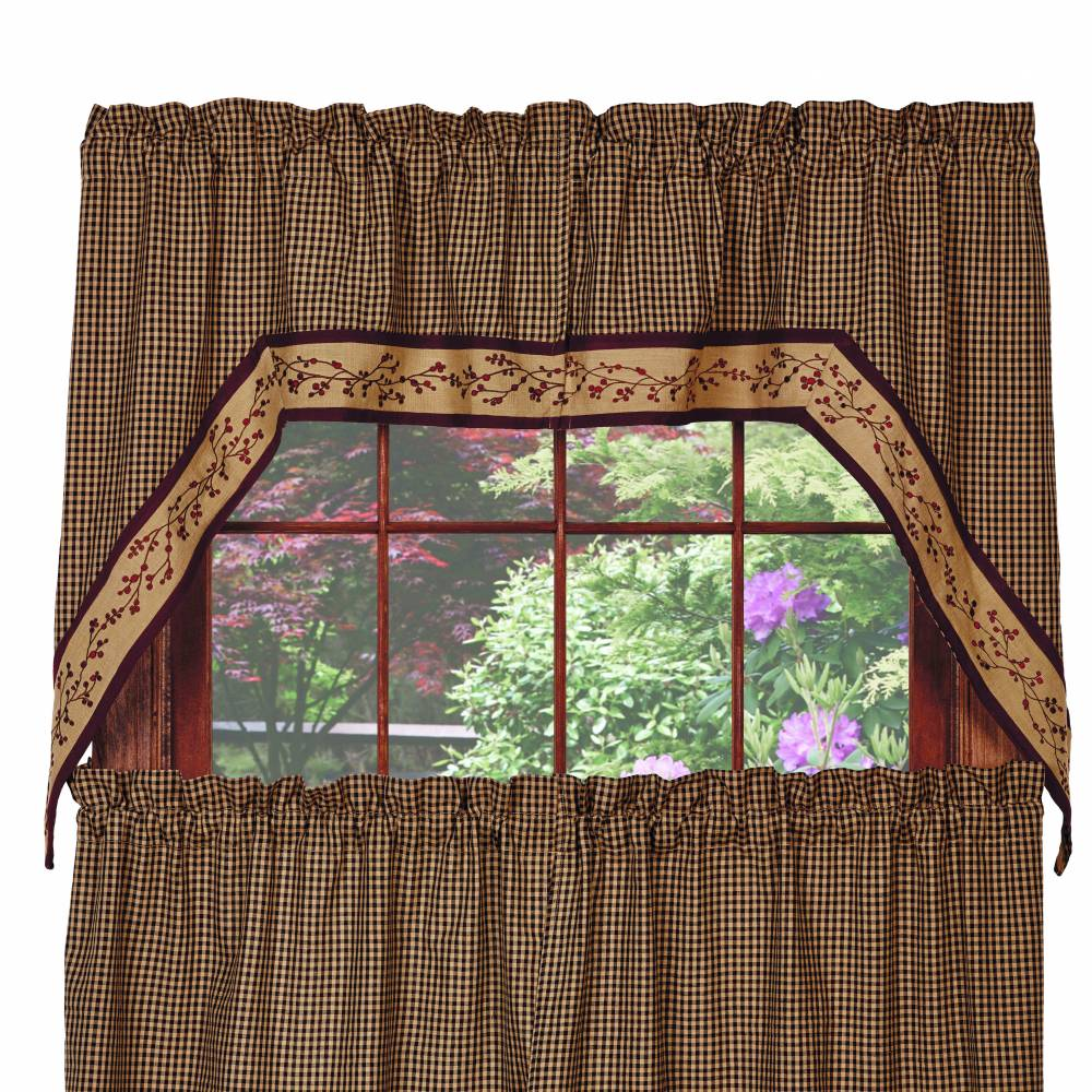 curtains piper lined department category swag classics country product barnside swags