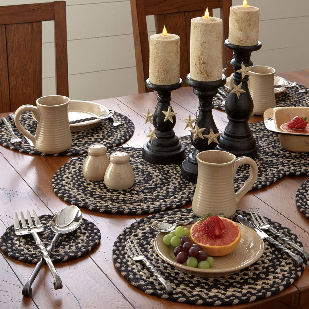 Country kitchen table kendrick braided table runner 34 hover to zoom workwithnaturefo