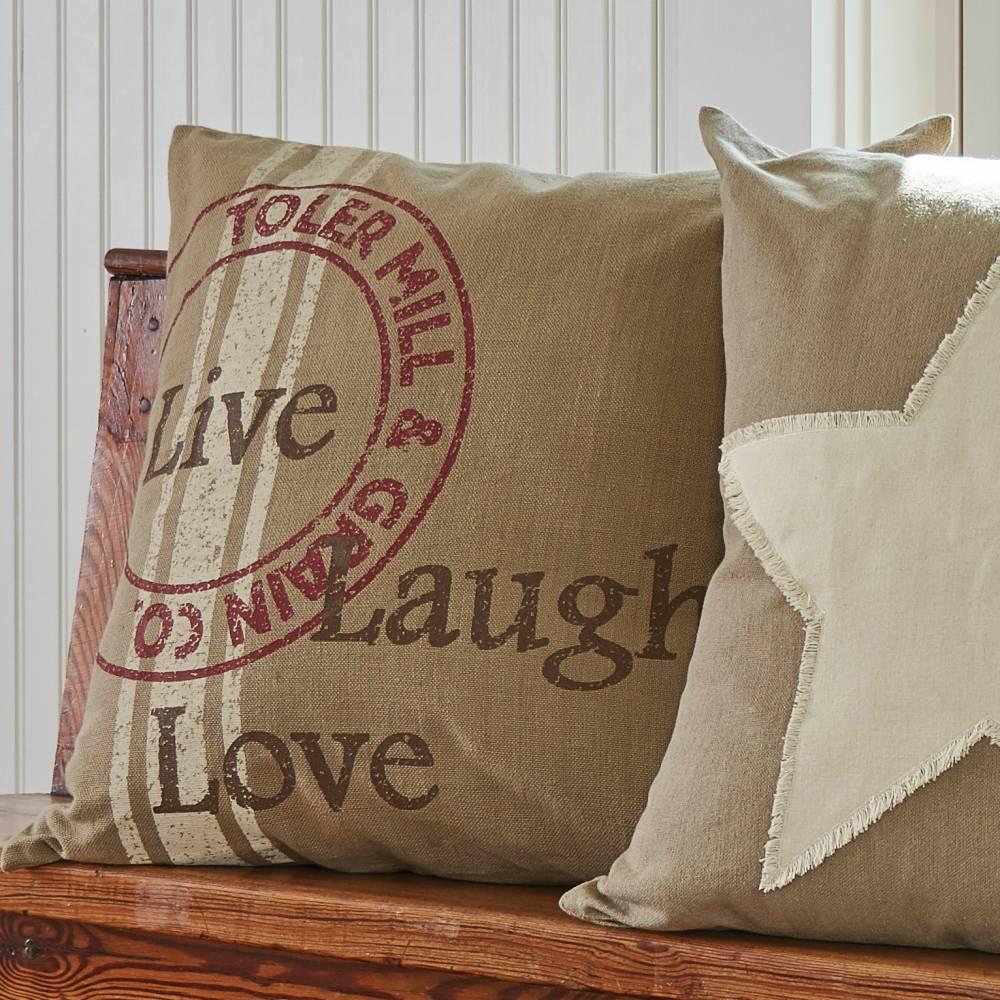Live Love Laugh 20 Quot Pillow Cover Piper Classics