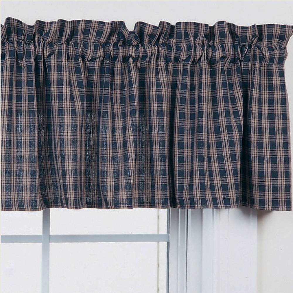 sheer premium warm half or curtains royal rod window pocket home designs valance scarves indigo navy blue products