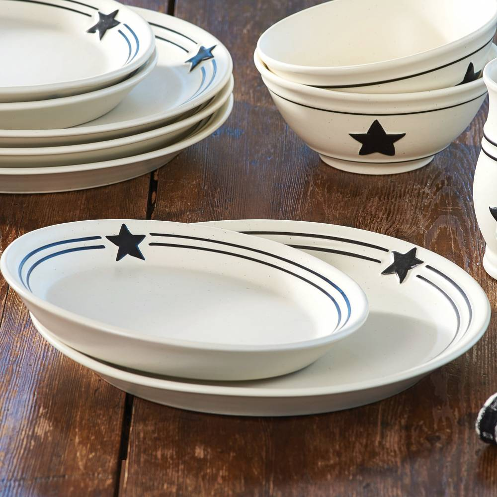 Country Star Dinnerware & This Is Perfect For A Family Dinner