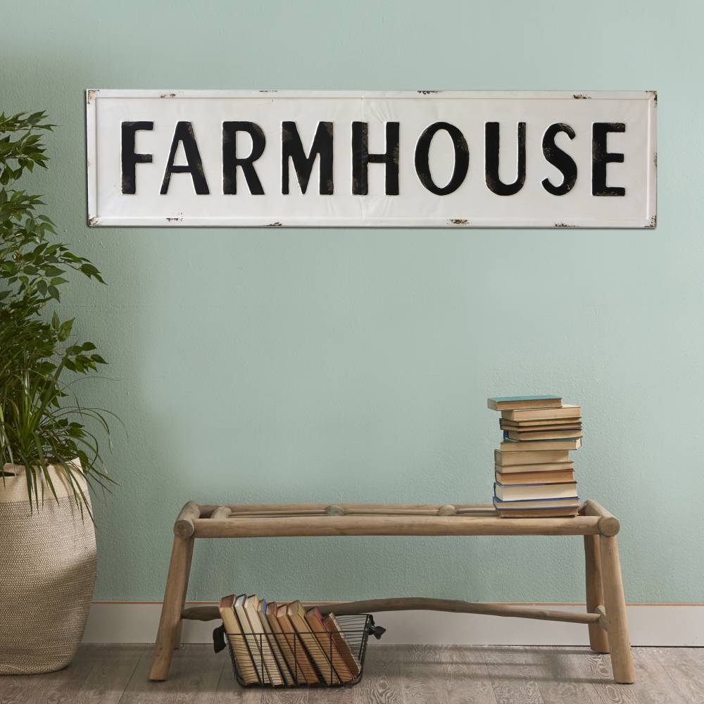Extra Large Metal Farmhouse Sign Piper Classics