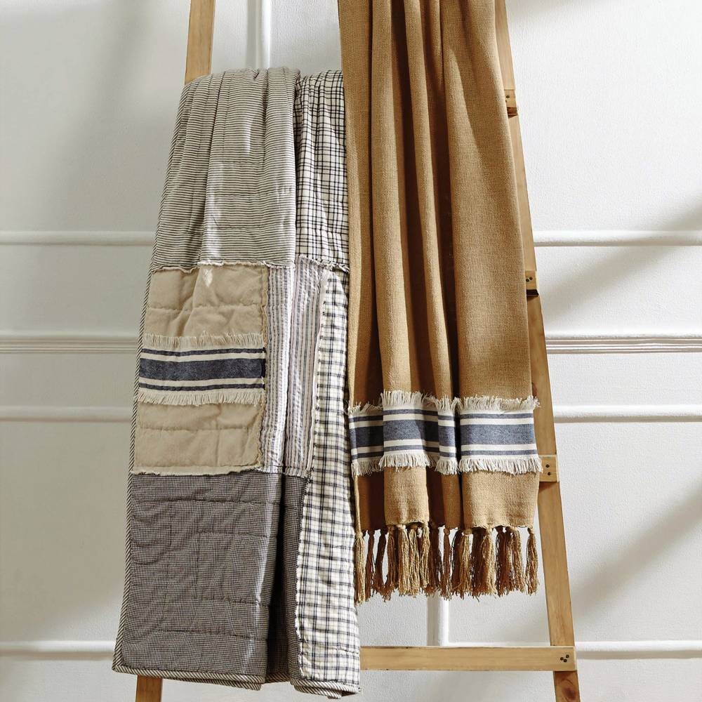 Quilted & Woven Throws
