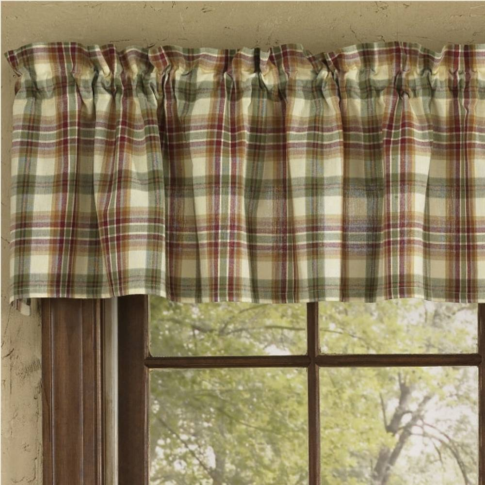 green valance valances carousel rod shabby designs window chenille coordinating trim accent with large pocket