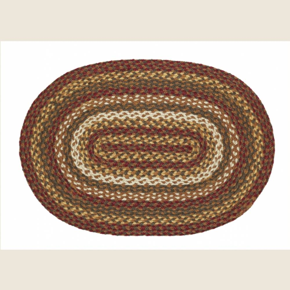 Country Style Braided Jute Rugs - Tea Cabin