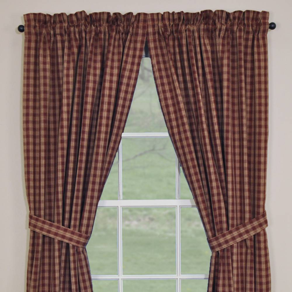 Country Panel Curtains