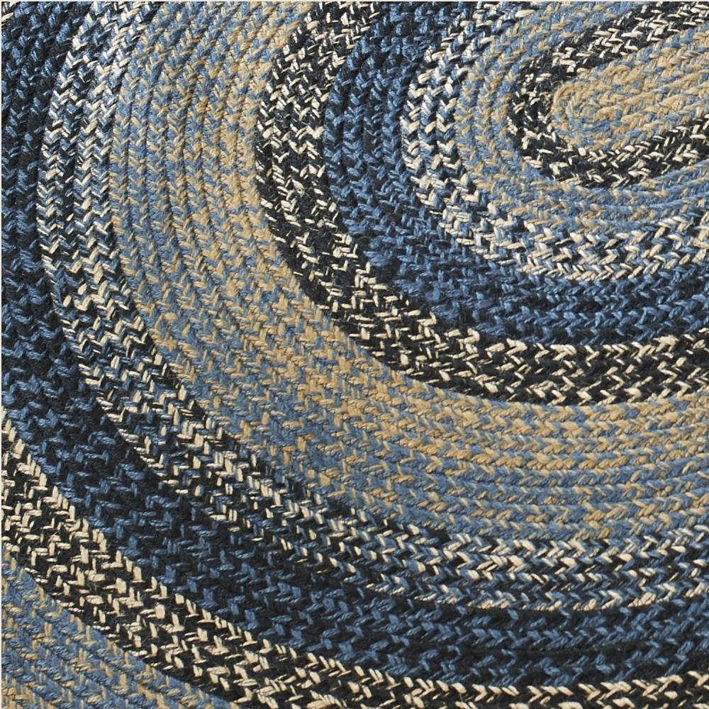 Country Style Braided Jute Rugs Samples Swatches
