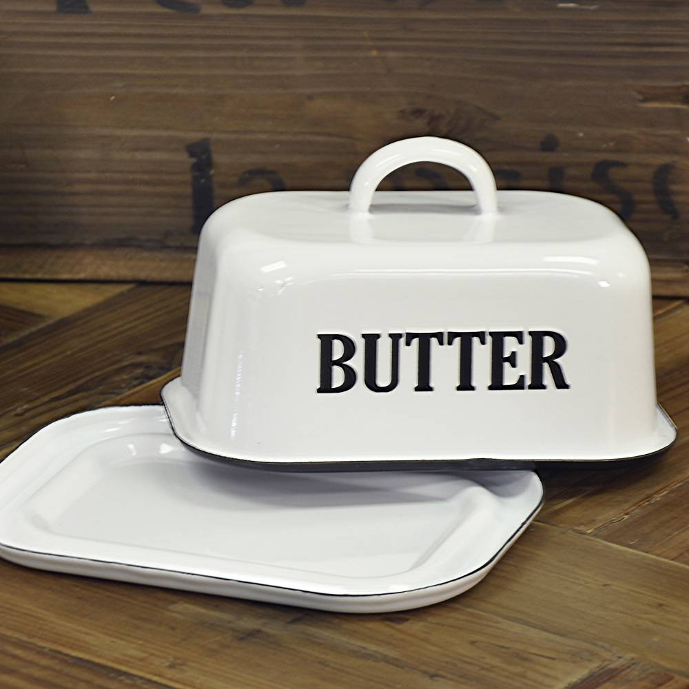 Country Kitchen Butter Dish