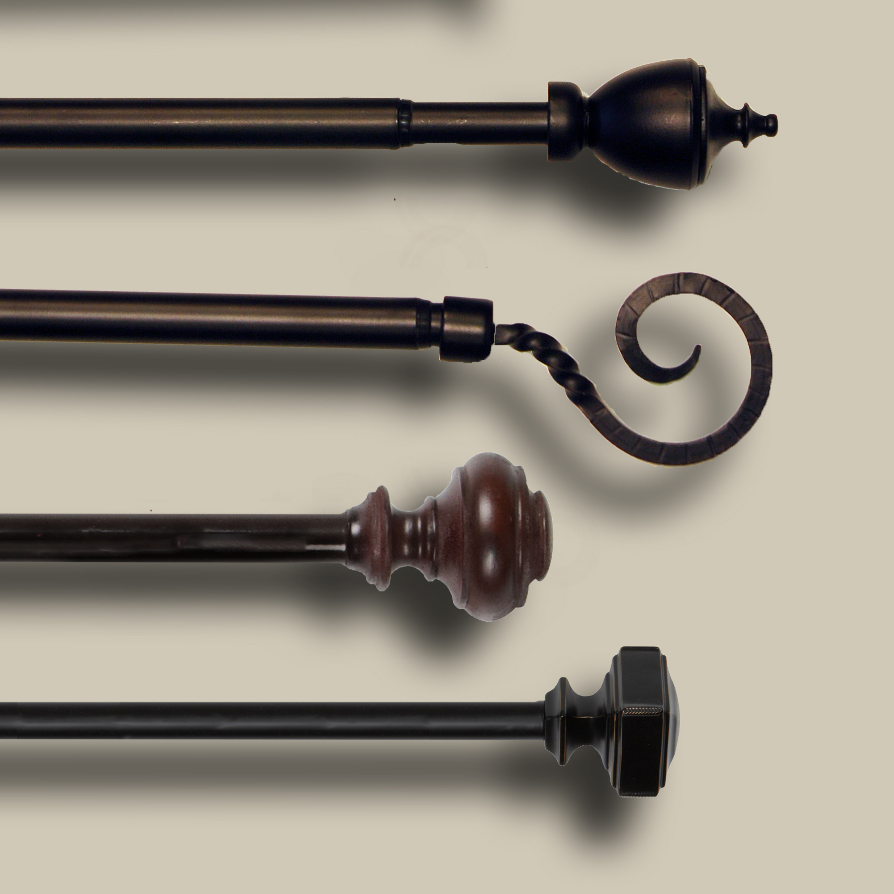 Curtain Rods & Hardware
