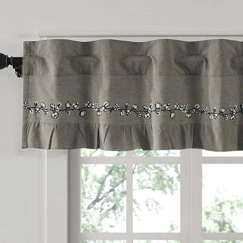 on valance garden shipping product home in window free arbor orders over gray