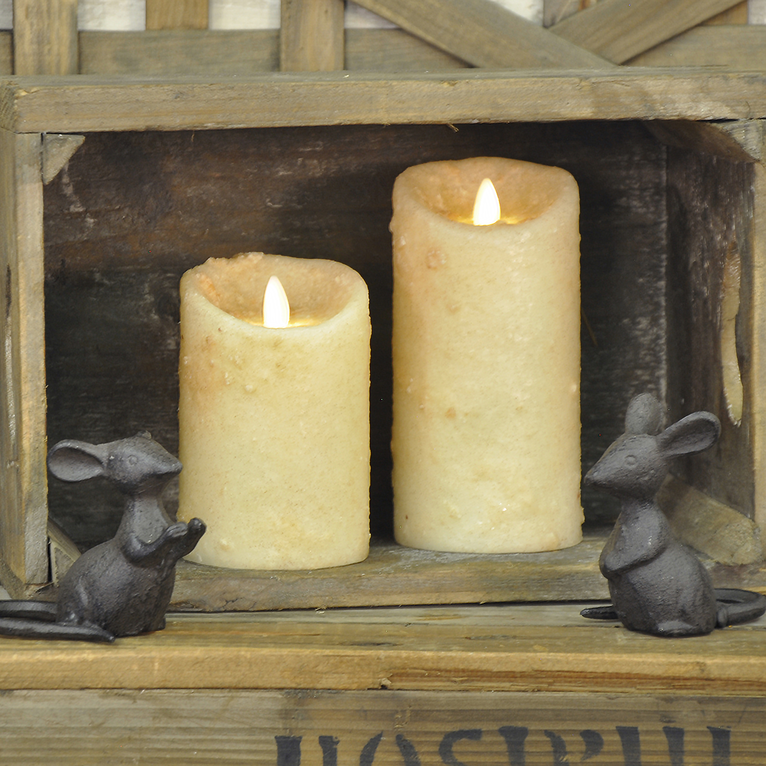 Moving Flame Candles
