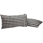Annie Buffalo Black Pillow Case(1)