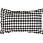 Annie Buffalo Black Pillow Case(2)