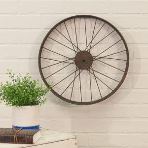 Great Antique Medium Bike Wheel