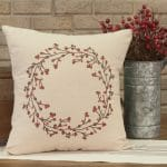 twig and berry pillow
